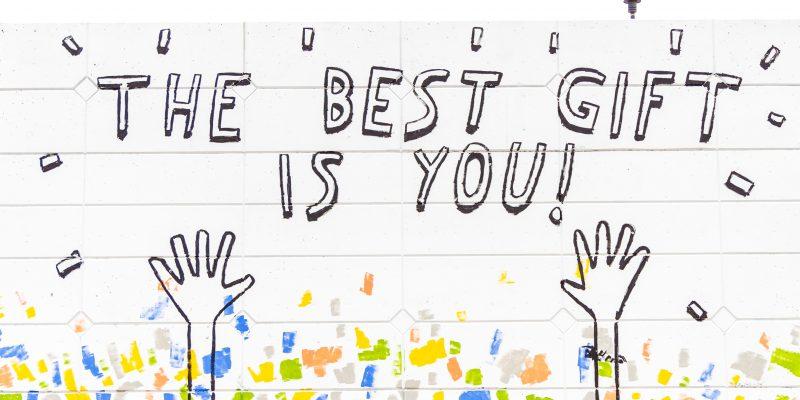 Du bist das größte Geschenk!
